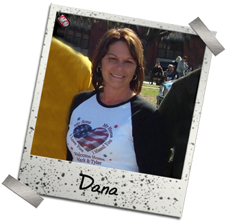 Dana- Customized Military Bootcamp Homecoming Shirt - a perfect way to welcome home your Marine, Soldier, Sailor or Airman