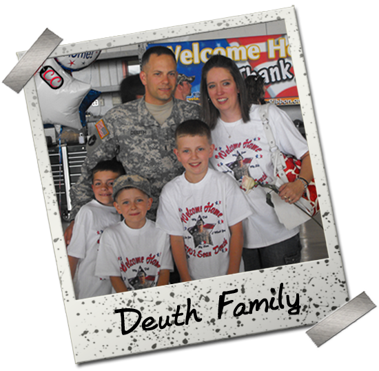 Personalized Military Welcome Home T-shirts