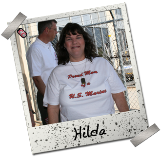 Hilda - Proud Marine Mom T-shirt
