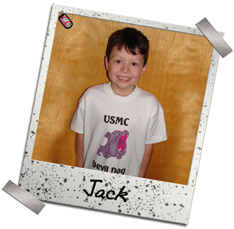 Jack - USMC Devil Dog shirt