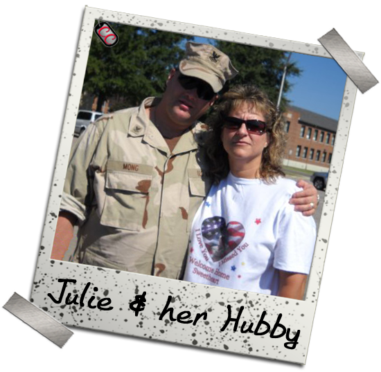 Julie - Personalized Military Welcome Home T-shirts