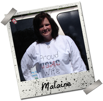Malaine - Proud Marine Wife Shirt