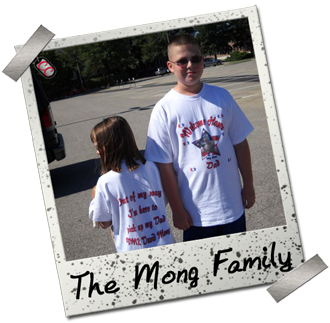 Mong Family - Personalized Military Welcome Home T-shirts