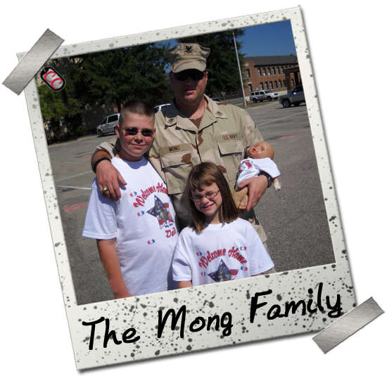 Mong Family - Customized Military Homecoming T-shirts