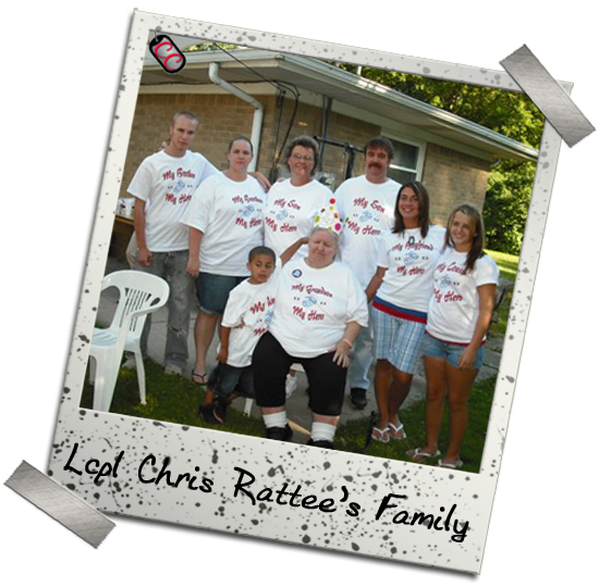 Rattee Family - Military Homecoming T-shirts - Personalized
